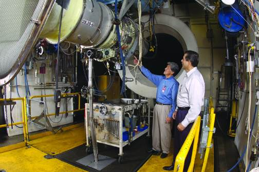 Falcon 50-4 Performance Upgrade sees successful nacelle-nozzle integration test.