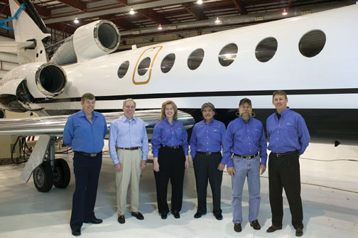 Premier Aircraft Selects Flight Test Associates to Evaluate Enhanced Performance of Falcon 50-4 Aircraft